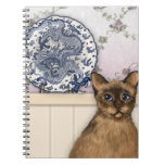 The Chinese Plate and Tibetan Cat Notebook