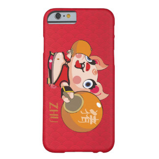 The Chinese Style design for the Year of Pig Barely There iPhone 6 Case