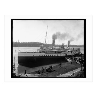 The Chippewa, Lewiston, Niagara River, NY Vintage Postcard