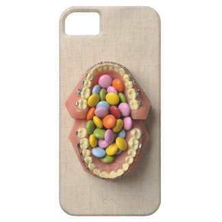 The chocolate served in the dental model barely there iPhone 5 case
