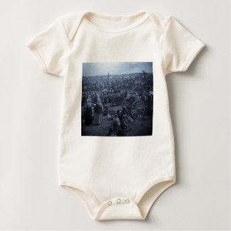 The Choosing Dance of the Blackfeet Baby Bodysuit