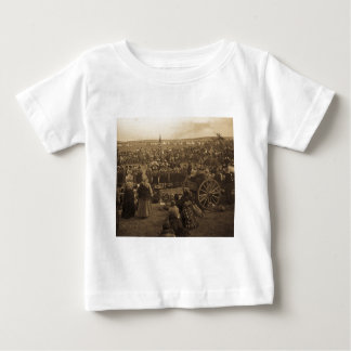 The Choosing Dance of the Blackfeet (Sepia) Baby T-Shirt