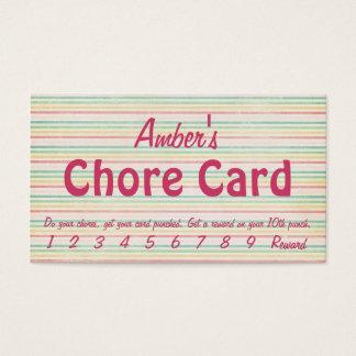 The Chore Card
