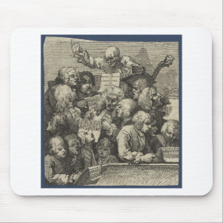 The Chorus by William Hogarth Mouse Pad