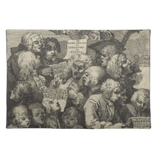 The Chorus by William Hogarth Place Mat