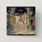 The Christening of Grand Duke Vladimir , 1885-96 15 Cm Square Badge