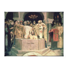 The Christening of Grand Duke Vladimir , 1885-96 Canvas Print