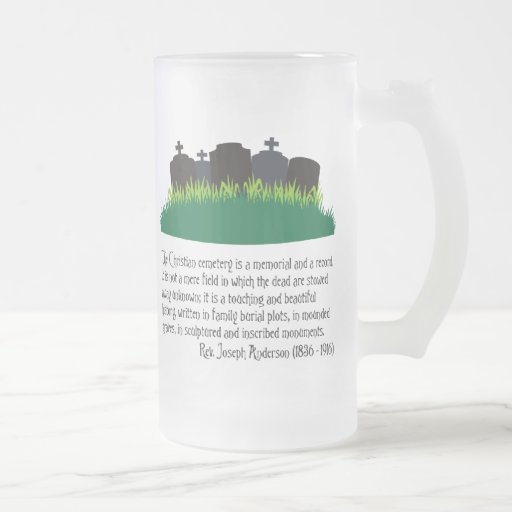 The Christian Cemetery Coffee Mug