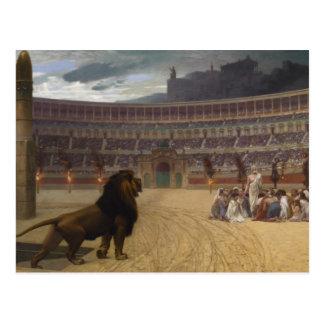The Christian Martyrs Last Prayer Postcard