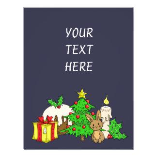 The Christmas Bunny 21.5 Cm X 28 Cm Flyer