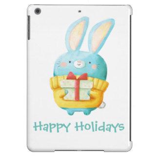 The Christmas Bunny iPad Air Cases