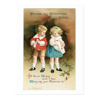 The Christmas Cheer Children Postcard