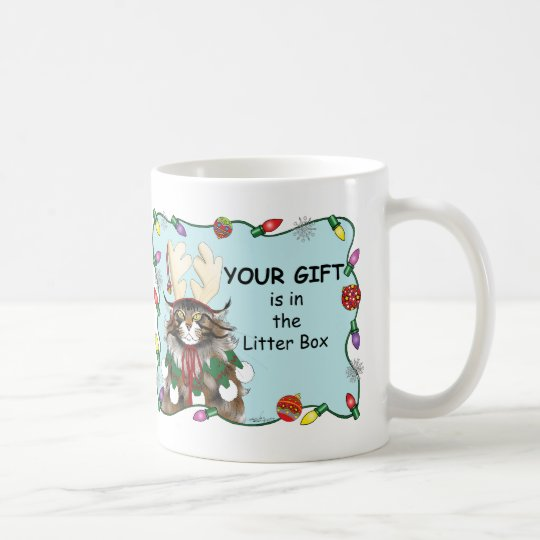 The Christmas Gift Coffee Mug