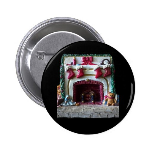 THE CHRISTMAS MANTLE BUTTON
