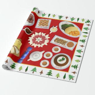 The christmas menu