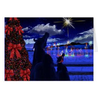 The Christmas Star Card