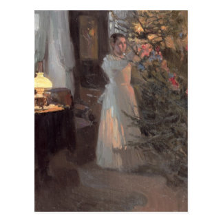 The Christmas Tree, 1910 Postcard