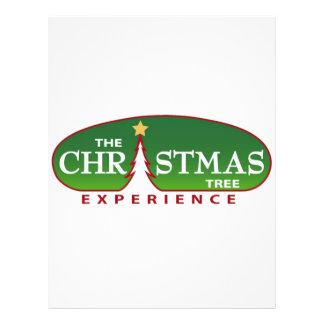 The Christmas Tree Experience 21.5 Cm X 28 Cm Flyer