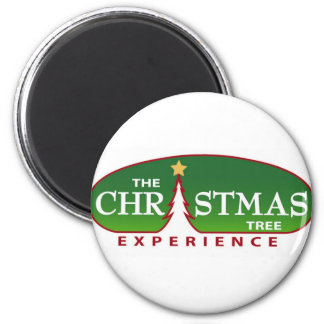 The Christmas Tree Experience 6 Cm Round Magnet