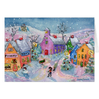 The Christmas Tree Home Card