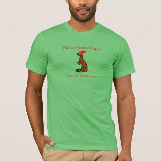 The Christmas Weasel T-Shirt