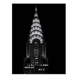 The Chrysler building postcard