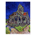 The Church at Auvers by Vincent van Gogh 1890