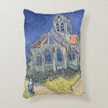 The Church at Auvers-sur-Oise Accent Cushion