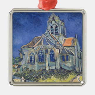 The Church at Auvers-sur-Oise Christmas Ornaments