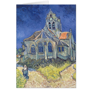 The Church at Auvers-sur-Oise Greeting Cards