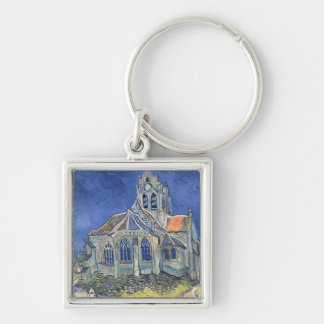 The Church at Auvers-sur-Oise Key Chain