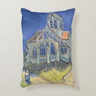 The Church at Auvers-sur-Oise Accent Pillow