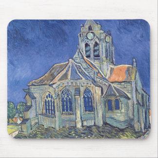 The Church at Auvers-sur-Oise Mouse Pad