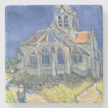 The Church at Auvers-sur-Oise Stone Beverage Coaster