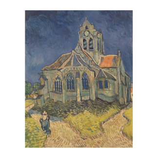 The Church at Auvers-sur-Oise Wood Print