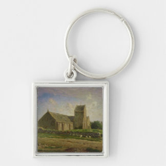 The Church at Greville, c.1871-74 Key Chain