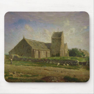 The Church at Greville, c.1871-74 Mouse Pads