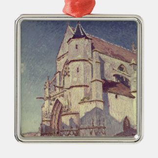 The Church at Moret, 1894 Christmas Ornament