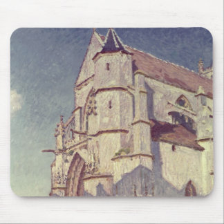 The Church at Moret 1894 Mousepads