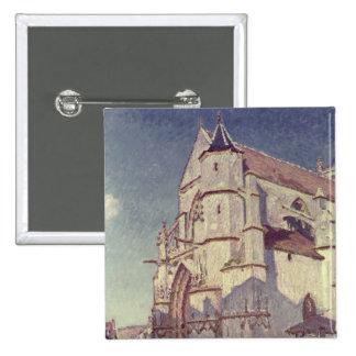 The Church at Moret, 1894 Pin