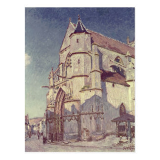The Church at Moret, 1894 Post Cards