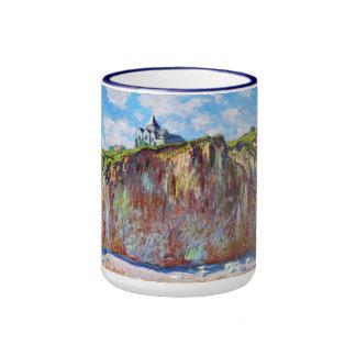The Church at Varengeville, 1882 Claude Monet cool Ringer Mug