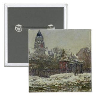 The Church at Vetheuil 1879 Pins