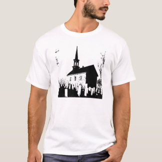 The Church By The Cemetery T-Shirt