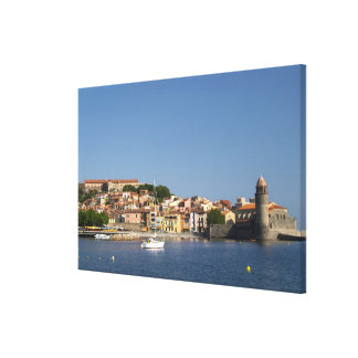 The church Eglise Notre Dame des Anges, our lady 2 Gallery Wrap Canvas