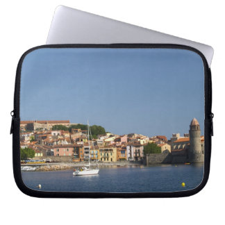 The church Eglise Notre Dame des Anges, our lady 2 Laptop Sleeve
