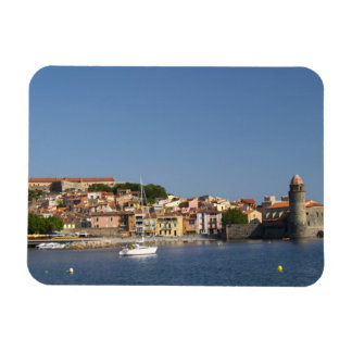 The church Eglise Notre Dame des Anges, our lady 2 Rectangular Photo Magnet