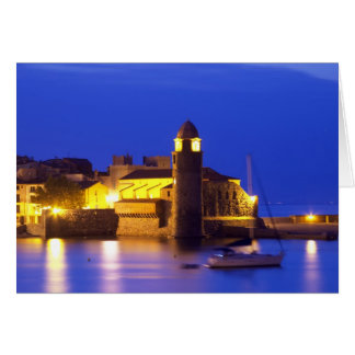 The church Eglise Notre Dame des Anges, our lady Greeting Card