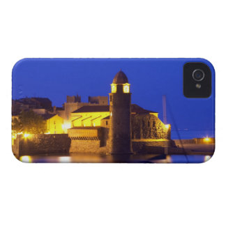 The church Eglise Notre Dame des Anges, our lady iPhone 4 Case-Mate Cases