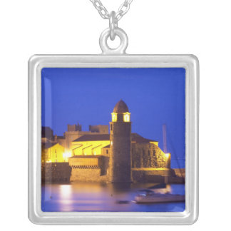 The church Eglise Notre Dame des Anges, our lady Custom Necklace